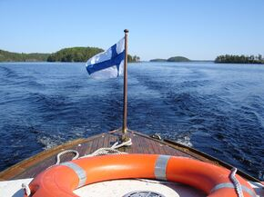 Finland - a boating paradise for family activities